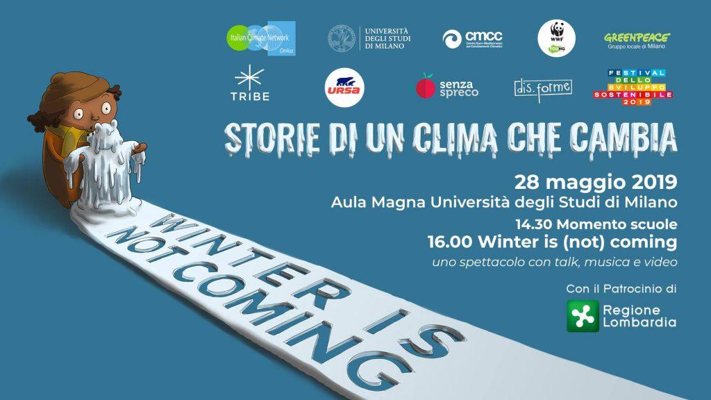 """Winter is (not) coming"" Storie di un clima che cambia"