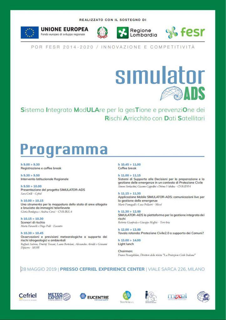 Presentazione del progetto SIMULATOR-ADS