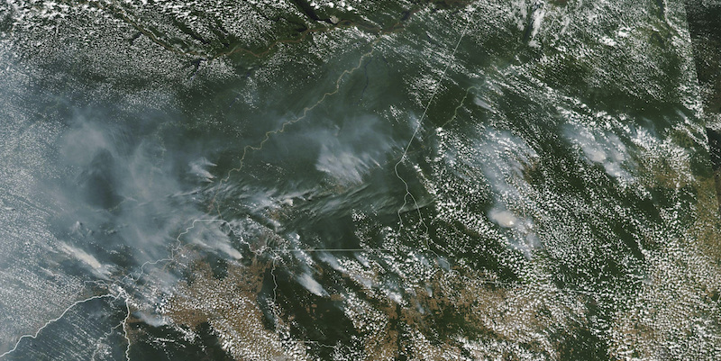 Satellite NASA - 13 Agosto