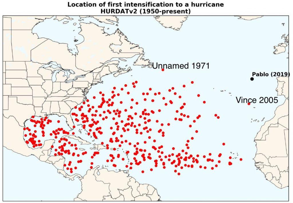 uragani atlantico pablo