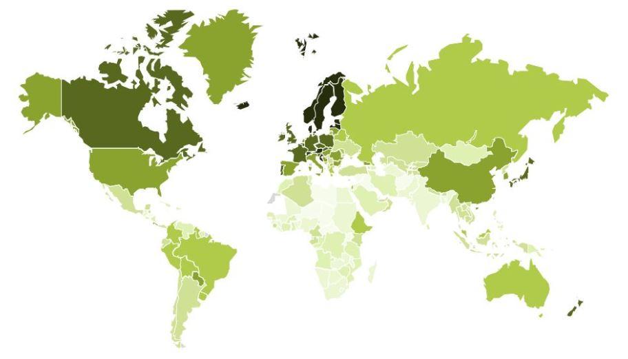 competitività sostenibile nazioni