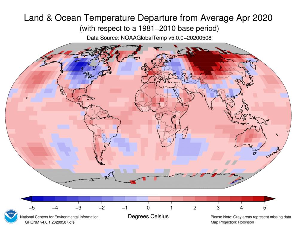 clima-globale-aprile-noaa