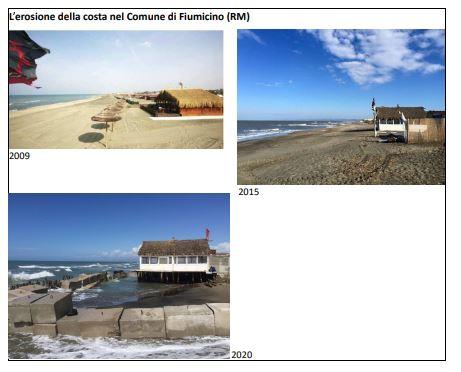 spiagge italiane erosione