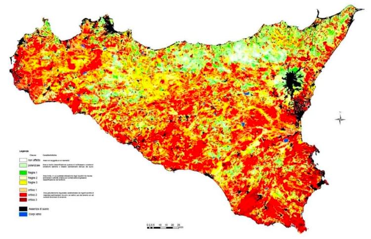 Sicilia desertificazione