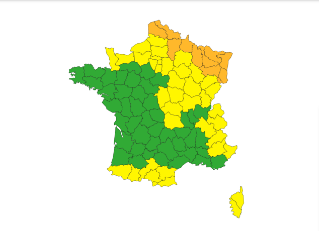 Francia allerta