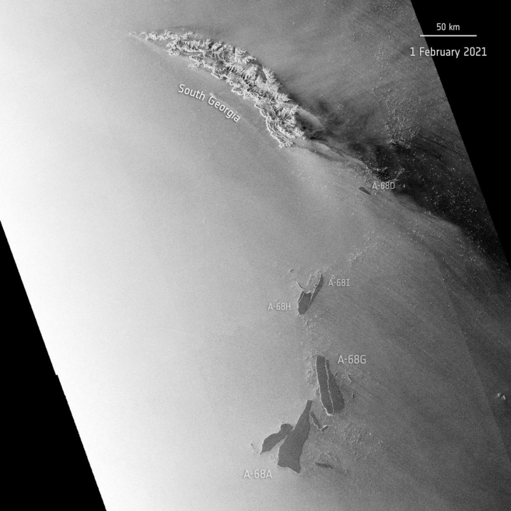 iceberg A-68a