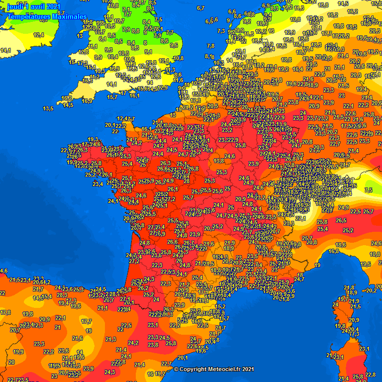 caldo anomalo Europa