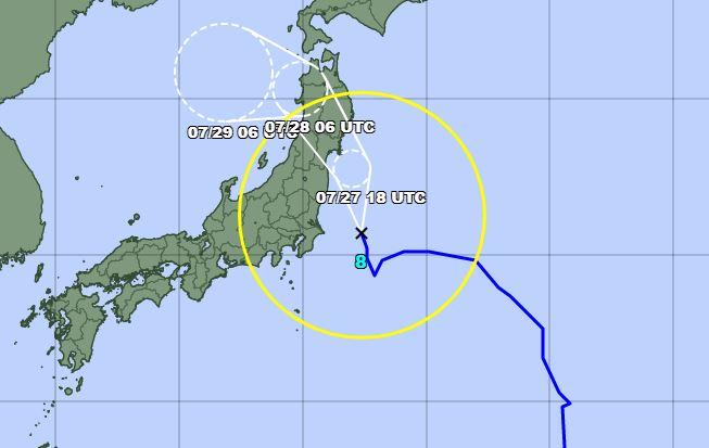 tifone tempesta nepartak tokyo 2020