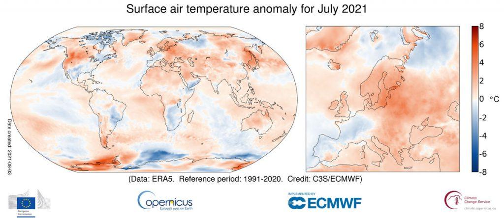 Luglio 2021 - caldo