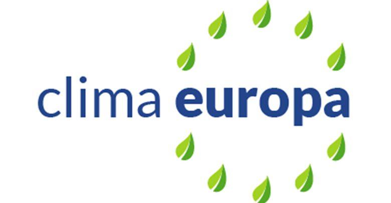 """Il logo del progetto """"Clima Europa"""""""
