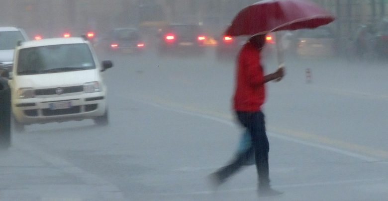 Forte maltempo al Sud: diramata allerta meteo rossa in Calabria