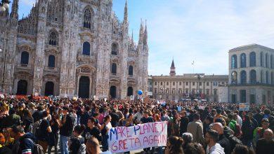 Friday for Future - Milano. Foto IconaNews