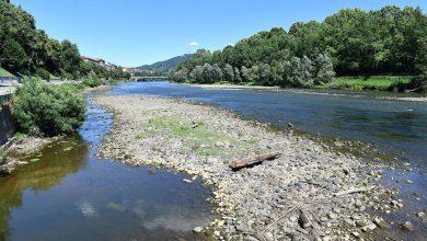 Siccità fiume Po