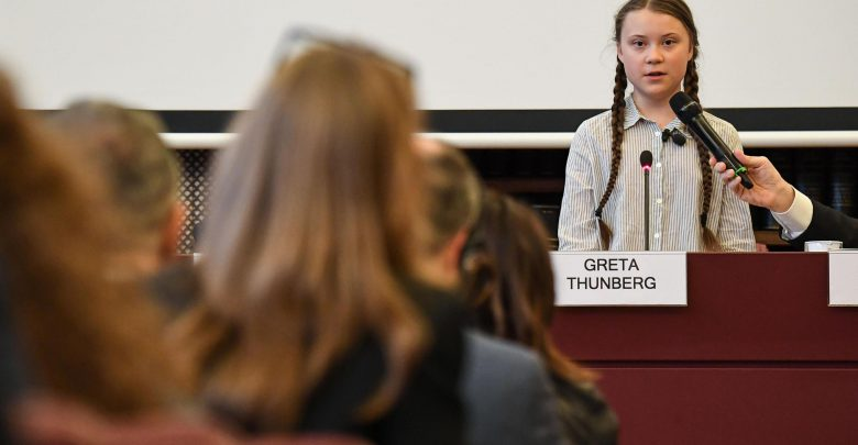 Greta Thunberg politica
