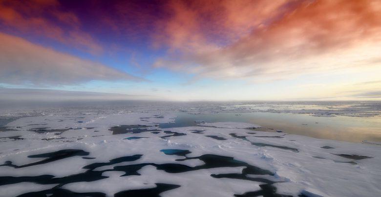 calotta artica ghiacci record aprile