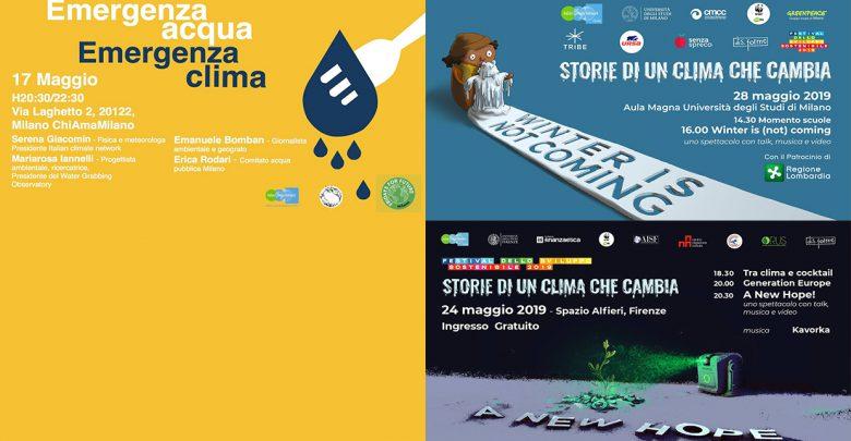 eventi maggio italian climate network