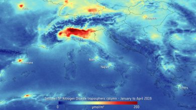 Protocollo Aria pulita. Inquinamento italia biossido di azoto 2019 mappa