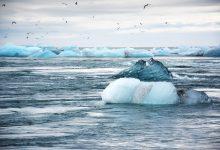 ghiacci, mare
