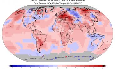giugno 2019 caldo record