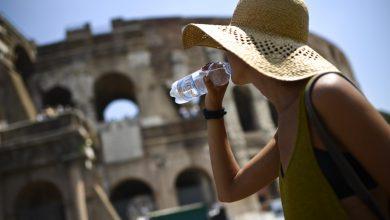 Riscaldamento globale - caldo a Roma