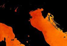 mar adriatico caldo 1 grado ogni secolo