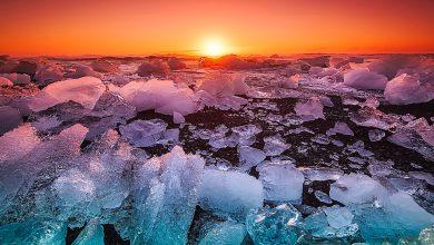 ghiacci artici luglio nord italia
