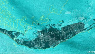 Iceye - satellite - Bahamas