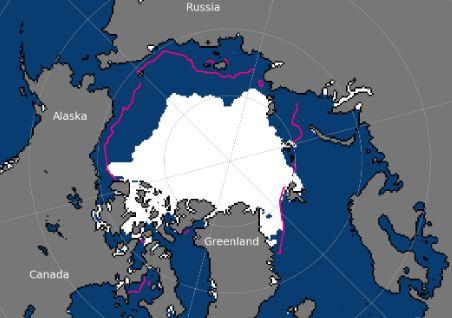 ghiacci calotta passaggio a nord est