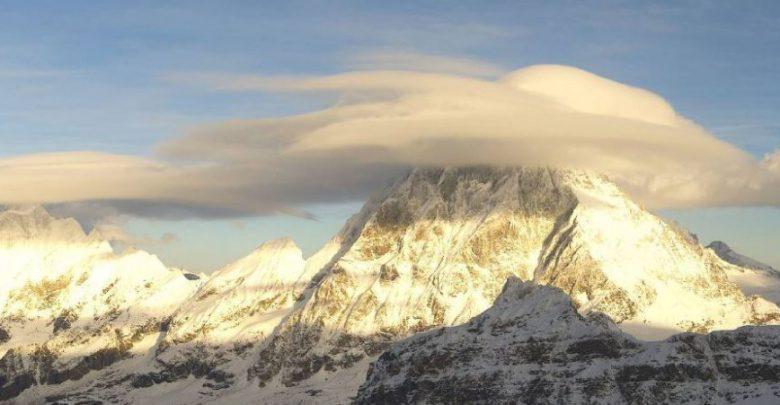 nube lenticolare cervino