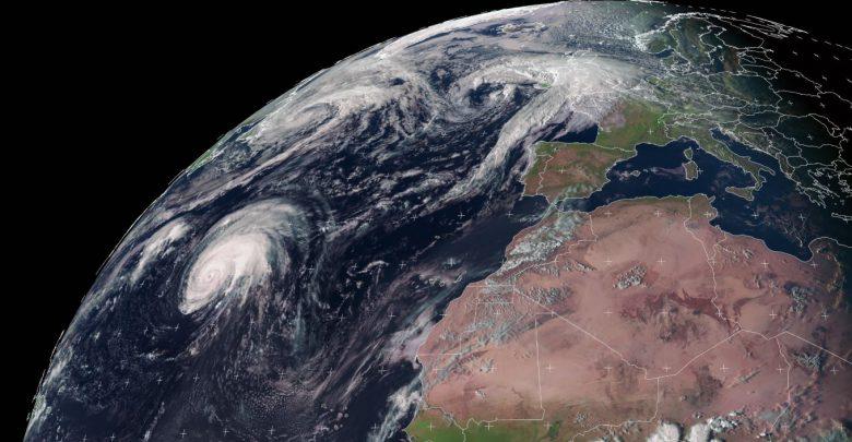 uragano lorenzo azzorre europa