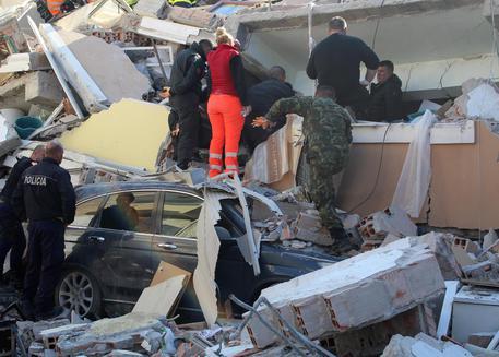 terremoto in Albania