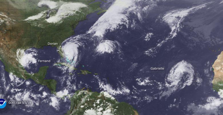 uragani 2019 atlantico