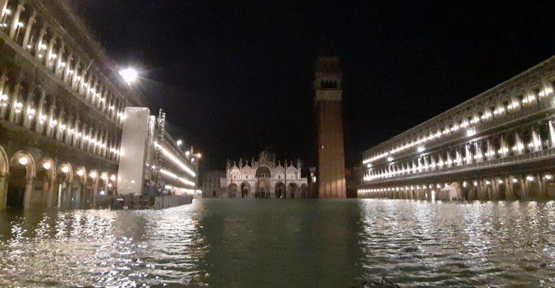 venezia allagata marea acqua alta