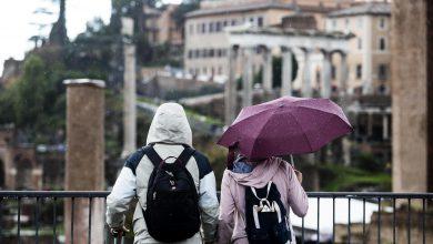 Roma maltempo