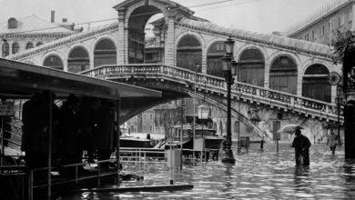 venezia acqua alta storia