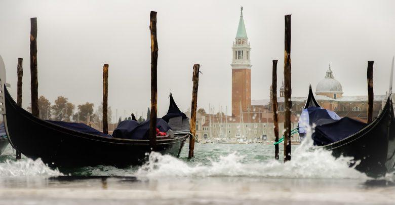 venezia acqua alta marea