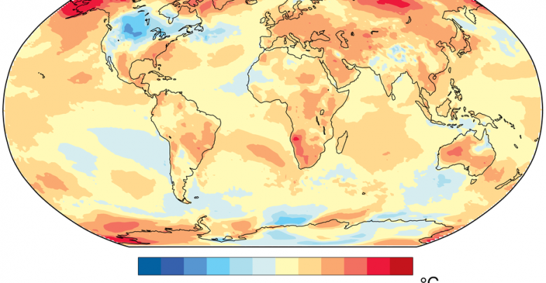 riscaldamento globale 2019