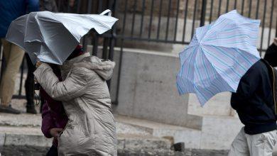 Roma maltempo vento