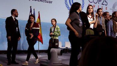 COP25 Greta Thunberg Madrid