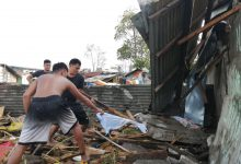 Filippine tifone Phanfone