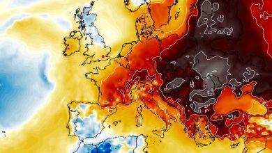 caldo record francia austria