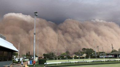 australia tempesta sabbia