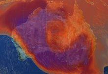 australia caldo incendi