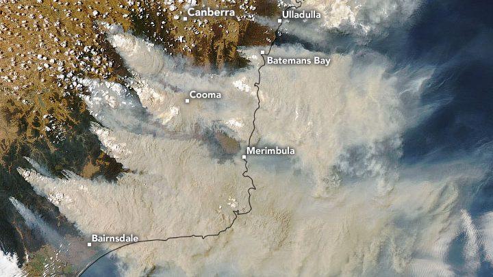 australia incendi anidride carbonica emissioni