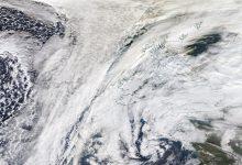 vortice polare sul regno unito e l'irlanda