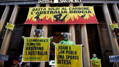 Greenpeace Milano Intesa Sanpaolo finanziamenti