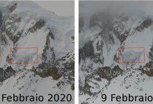 monte bianco ghiacciaio