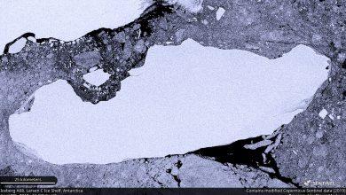 iceberg più grande del mondo A68