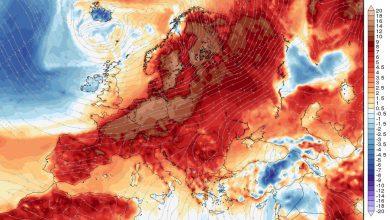 caldo anomalo