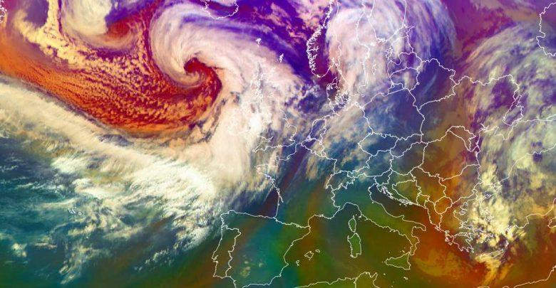 tempesta Dennis storm